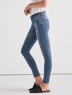 Sasha Super Skinny Jean In Cedar Creek Lucky Brand