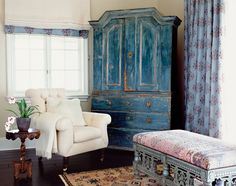 FABULOUS painted cabinet!!