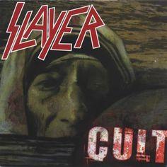 """RECENSIONE: Slayer ((Cult, single)) Il successo di """"Christ Illusion"""" fu la conseguenza di un'attiva campagna di promozione ed estrazioni di singoli, creati ad hoc per fornire ai fan una versione """"in solitaria"""" delle tracce (ritenute migliori) del platter. """"Cult"""" seguì proprio questa sorte, fregiandosi di un'ulteriore diffusione dopo l'apparenza nel precedente singolo """"Eternal Pyre"""". (Marek)"""