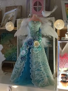 Tarja Laurinen, Dress form, fairy, Mixed media