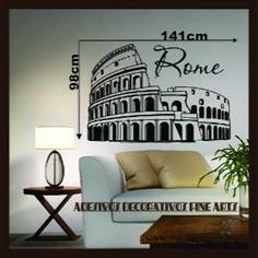 Adesivo Decorativo Roma