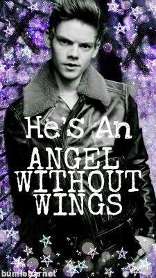 Thomas Brodie-Sangster. He's An Angel Without Wings