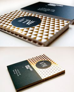 really like the gold foil and pattern