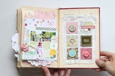 Altered Book album by stephanie makes blog: happy little moments