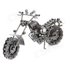 Iron Motorcycle Model - Black