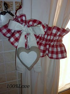 ♥♥ ... Window Dressing ... ♥♥  Tenda Country cucina