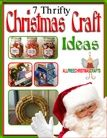 7 Thrifty Christmas Craft Ideas eBook - for all you #cheapskates out there #food
