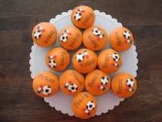 cupcake soccer. Support the Dutch team