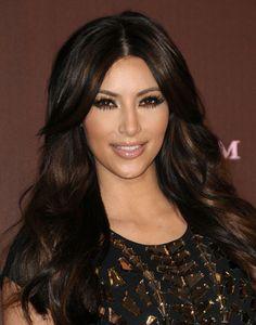 kim-kardashian bronze-eye-makeup