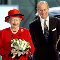 MARRIAGE MILESTONE  The queen and Prince Philip celebrated their golden wedding anniversary Nov. 20, 1997, with a lavish dinner at Buckingham Palace.