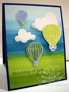 Up, Up, & Away by Paula-Kay