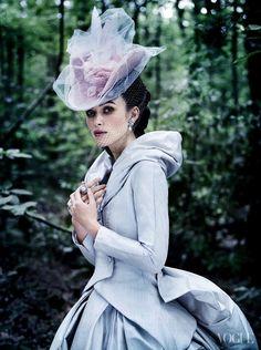 Keira Knightley in Vogue US