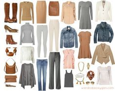 capsule wardrobe - Google Search