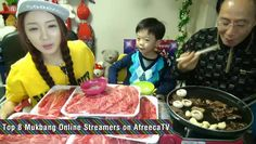 Top 8 Mukbang Online Streamers on AfreecaTV September 15, 2014 @ 3:40 pm