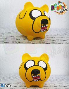 Alcancías en forma de marranitos pintadas a mano, personalizadas Wooden Piggy Bank, Pig Bank, Personalized Piggy Bank, New Things To Try, Cute Piggies, Money Box, Boyfriend Gifts, Pikachu, Diy And Crafts