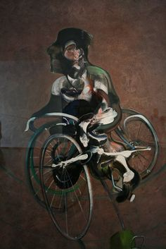 I LOVE THIS MAN! the artist, not the guy on the bike, even though he looks pretty cool tool.  Cant stop looking at his art