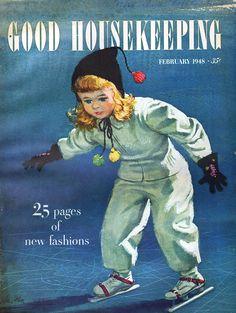 Fashion - Good Housekeeping - February, 1948