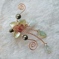 Ear Cuff Lothlorien Spring Forest Elven Ear Wrap. $16.00, via Etsy.