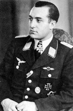 Major Eduard Tratt was the highest scoring Zerstörer pilot of the war with 38 victories and Gruppenkommandeur of II