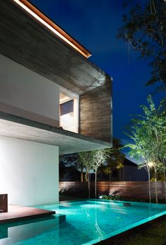 M-House by Ong & Ong - truly #modern and beautiful house with great #architecture