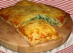 Een hele lekkere combinatie; bladerdeeg, spinazie, paddenstoelen en kaas! Moet je echt geproefd hebben. Van vandaagwatanders, website met alleen vegetarische recepten.