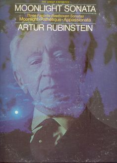 "Artur Rubinstein ""Moonlight Sonata"" LP"