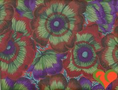 Kaffe Fassett Collective Philip Jacobs Waltzing Matilda Moss Fabric PJ22 Half Yard. Rare. OOP. VHTF. Retired. by FayCarrieQAOT on Etsy