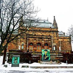 Turku Art Museum  ___________ #docelowo #Turku #Finland #art #Museum #artmuseum #sightseeing #travel #winter