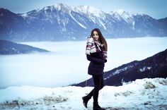 walking in a winter-wonderland