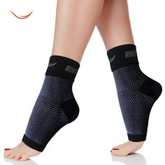 #1 (1 Pair) Best Plantar Fasciitis Foot Sleeves Ankle Graduated Compression Sleeves Brace Plantar Sock for Men & Women, Reduce Ankle Swelling, Ankle Spur, Improve Blood Circulation for Fast Recovery, Optimal Support for Muscle Endurance, Heel Arch Support
