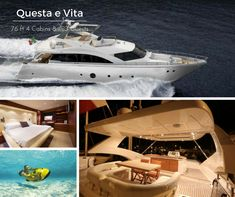 Questa e Vita #motoryacht #charter #greece for up to 10 guests - inquire: