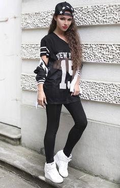 Street fashion [black]