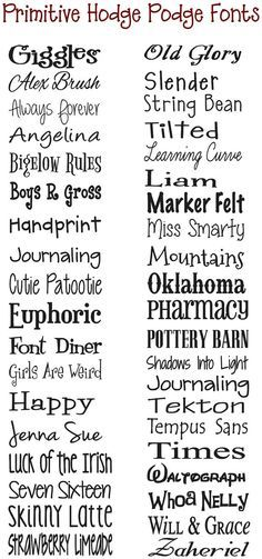 Love The Oklahoma Font