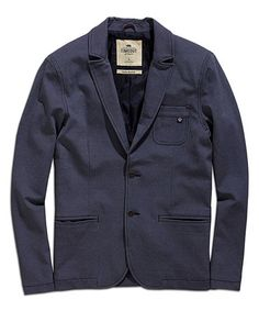 Another great find on #zulily! Storm Blue Melange Jacket - Men #zulilyfinds