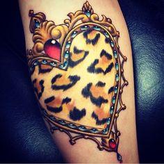 Corazón de Leopardo