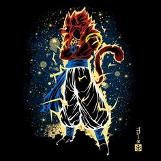 The SS4 Fusion - Men's Apparel Dragon Ball Gt, Gogeta Ss4, Dbz Wallpapers, Super Anime, Goku Super, Anime Shows, Cartoon, Fabric Softener, Koenigsegg