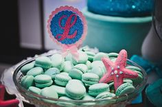 Mermaid Themed First Birthday Party {Planning, Ideas, Decor, Design} 1st Birthday Themes, Third Birthday, First Birthday Parties, Birthday Celebration, First Birthdays, Cute Mermaid, Baby Mermaid, Mermaid Birthday, The Little Mermaid