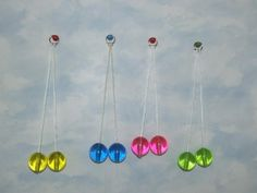 Popper Knockers aka Clackers!  I had the pink ones.