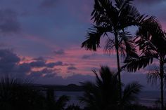 Sunset Tumon Bay Guam  2-14-2013