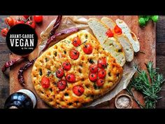 Vegan Rosemary, Basil And Tomato Focaccia Bread - The Veggie Blog