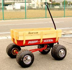 Custom radio flyer, wagon lift kit, lifted wagon | Radios ...