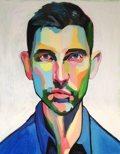 """Saatchi Online Artist Emma Tingård; Painting, """"Alex"""" #art"""