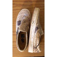 3c65e3c3b8e4 VANS x VINCENT VAN GOGH SLIP-ON - Letter - Men 7 Women 9  fashion  clothing   shoes  accessories  mensshoes  athleticshoes (ebay link)