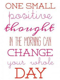 Happy Monday! What is your positive thought today?  #JaneCarterSolution #MondayMotivation #ThinkPositive