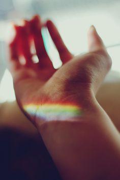 I'm part of the rainbow
