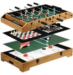 Perfect Franklin Sports 6 In 1 Table Top Game Center By Franklin, Http: