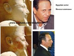 ancient and modern egyptian comparisons - Hatshepsut & Mamdouh Abdel Haleem