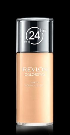 Revlon® ColorStay™ Makeup  for Normal/Dry Skin. LONGWEARING COVERAGE FOR NORMAL TO DRY SKIN. My Shade: SAND BEIGE.