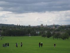 View of Oxford, England, from South Park.