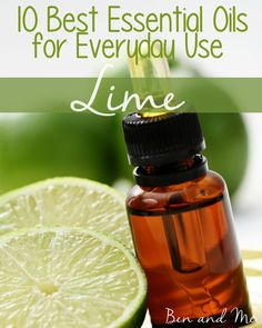Come discover some of the ways we use lime essential oil in our everyday.